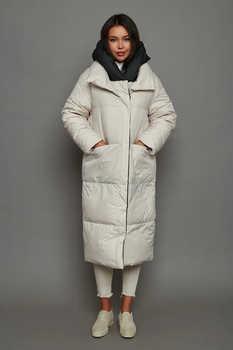 Теплая куртка кокон ice yee