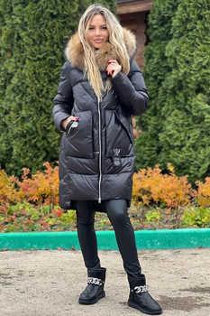 Пальто оверсайз цвета кемел