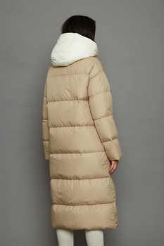 Стильный пуховик женский брендовый недорого ice yee