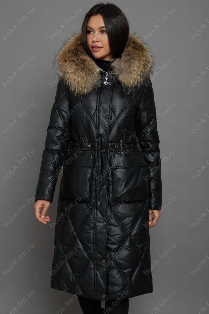 Зимняя длинная куртка-парка